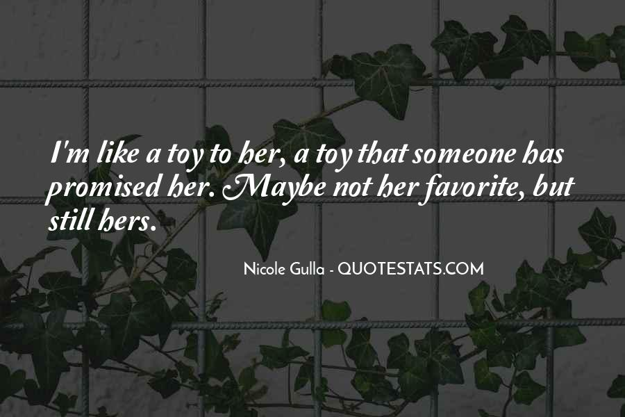Quotes About Not Like Someone #60920