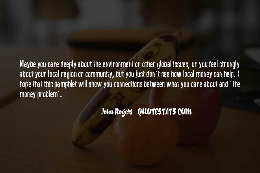 Quotes About Global Connections #1273245