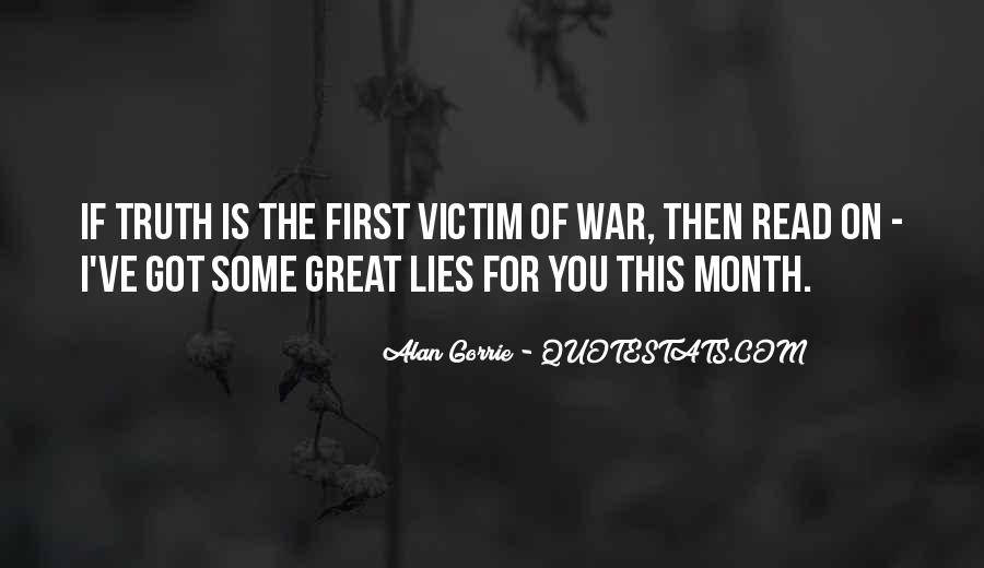 Quotes About Being The Victim #10316