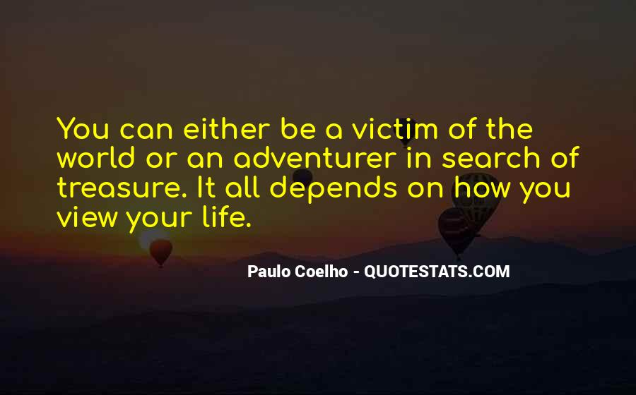 Quotes About Being The Victim #106205