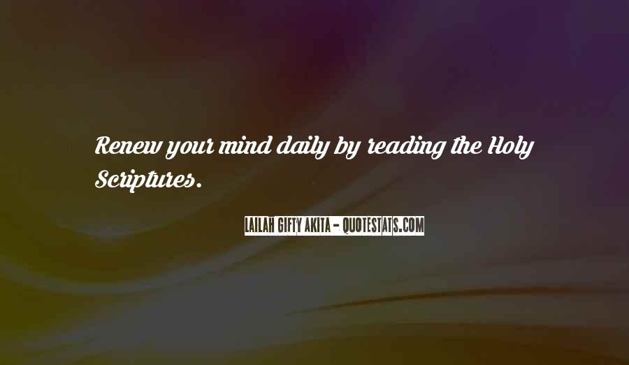 Quotes About Reading Scriptures #1500911