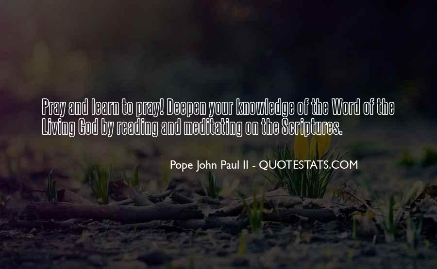 Quotes About Reading Scriptures #1591233