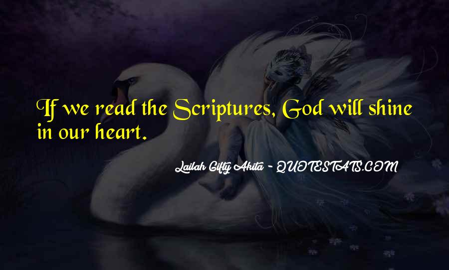 Quotes About Reading Scriptures #167912