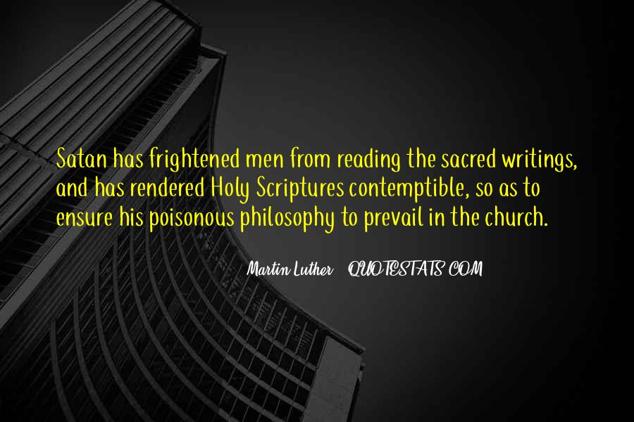 Quotes About Reading Scriptures #173178