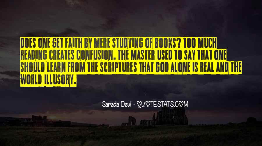 Quotes About Reading Scriptures #373060
