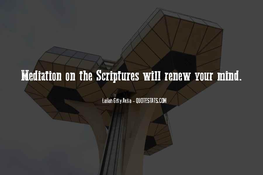 Quotes About Reading Scriptures #380343