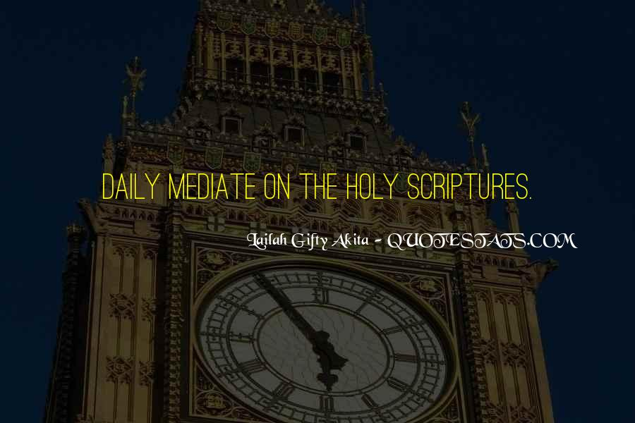Quotes About Reading Scriptures #461428