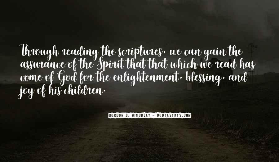Quotes About Reading Scriptures #64441