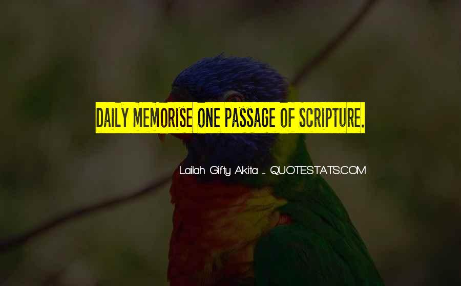 Quotes About Reading Scriptures #717108
