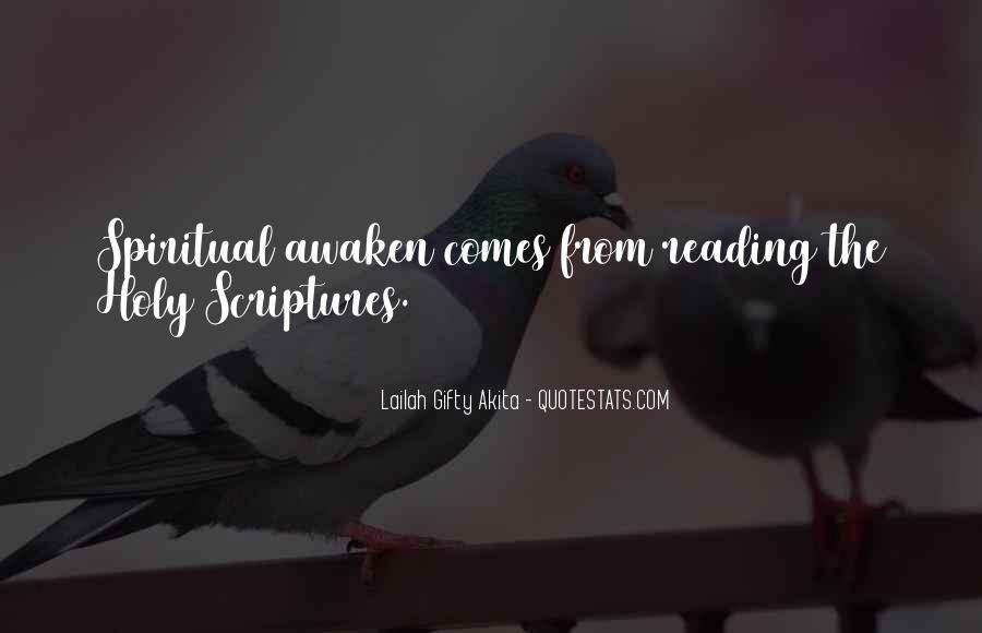 Quotes About Reading Scriptures #725295