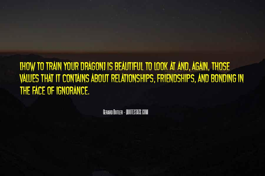 Quotes About Bonding #145492