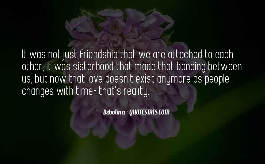 Quotes About Bonding #471617