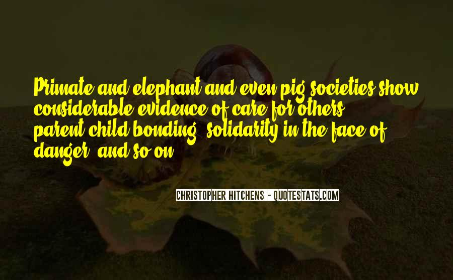 Quotes About Bonding #835044