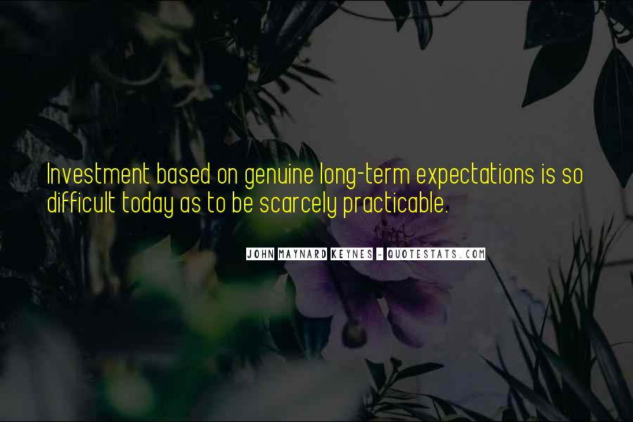 Quotes About Long Term Investing #166490