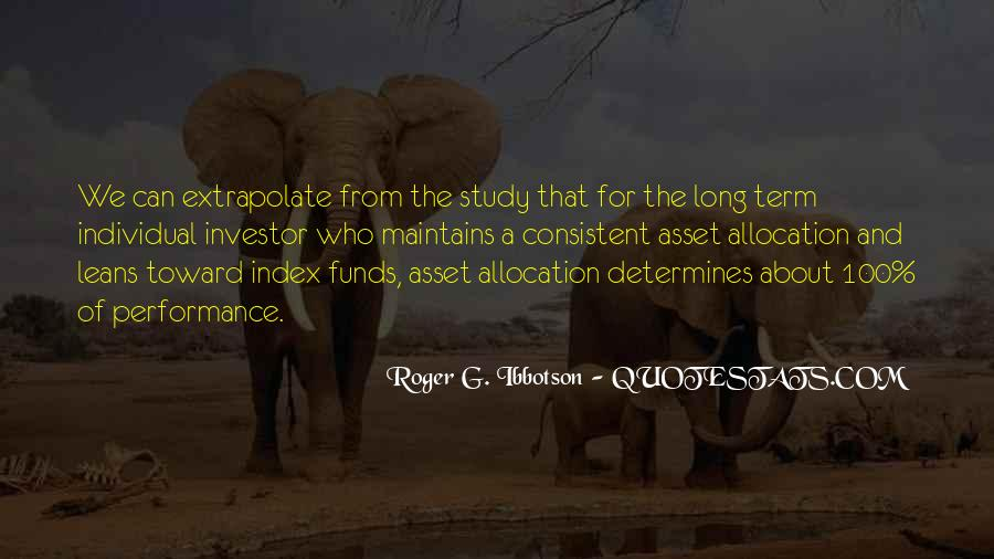 Quotes About Long Term Investing #1758080