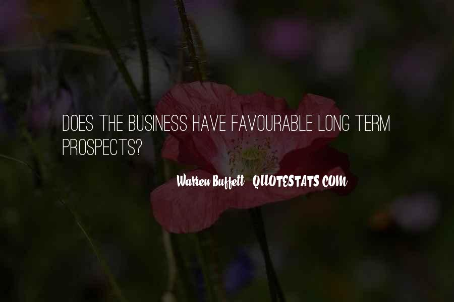 Quotes About Long Term Investing #1808501