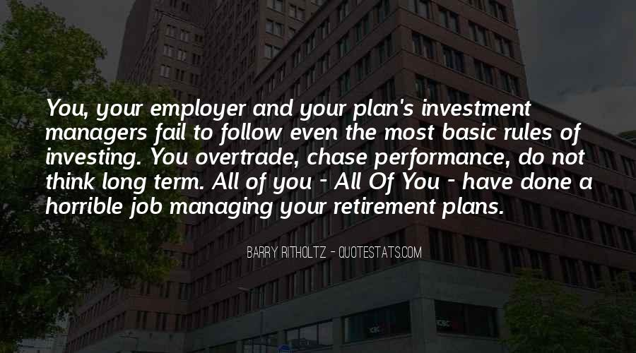 Quotes About Long Term Investing #318835