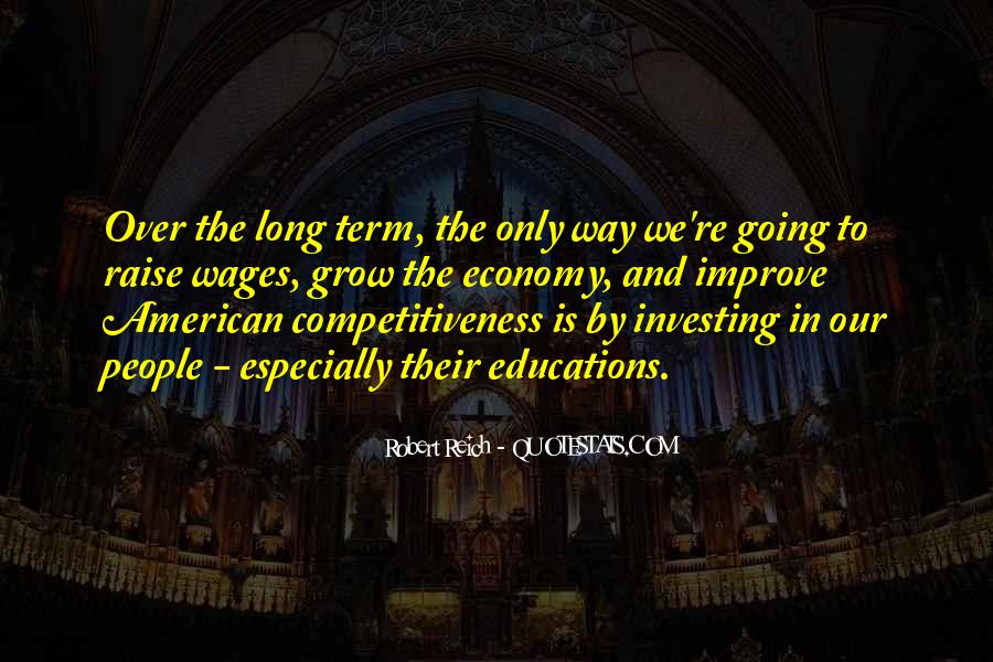 Quotes About Long Term Investing #447620