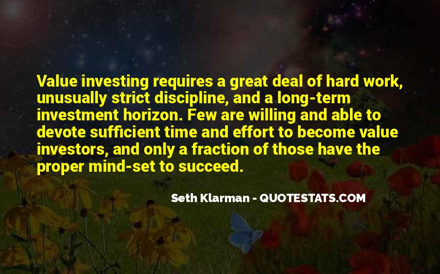 Quotes About Long Term Investing #851410