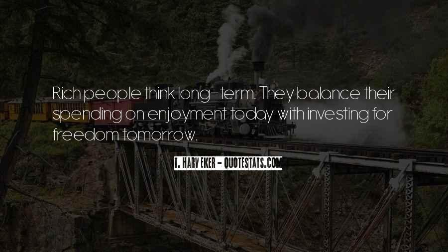 Quotes About Long Term Investing #974189