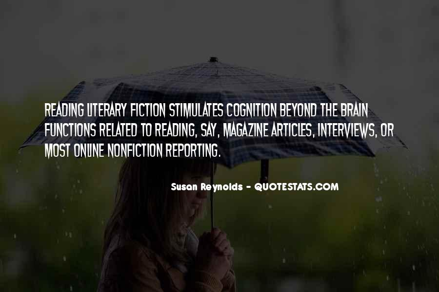 Quotes About Reading Nonfiction #111433