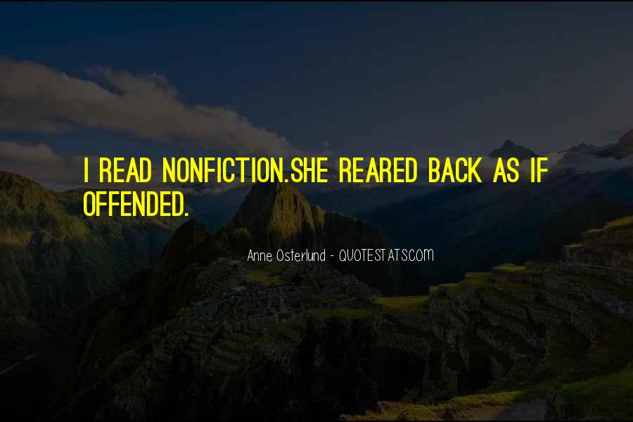 Quotes About Reading Nonfiction #603114