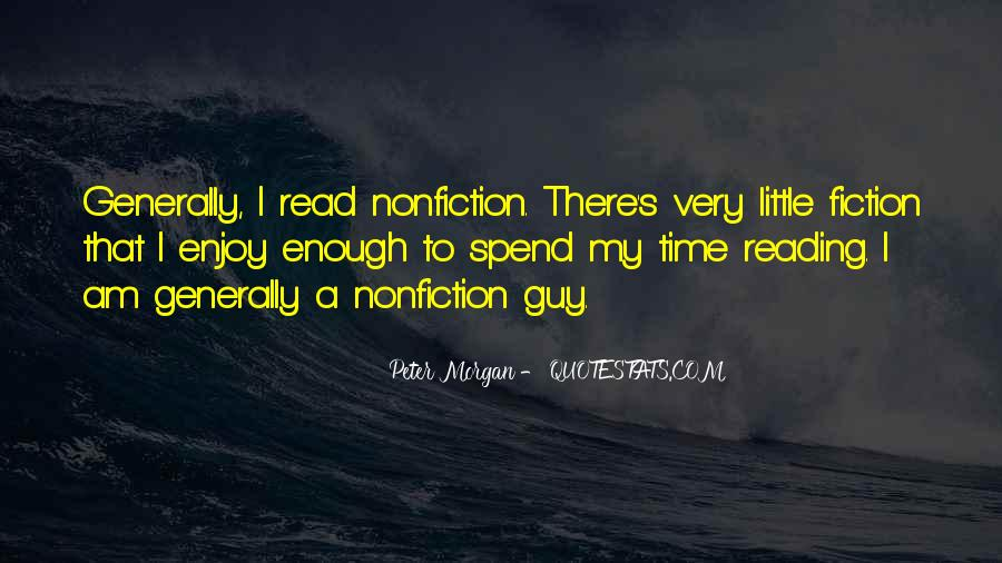 Quotes About Reading Nonfiction #831060