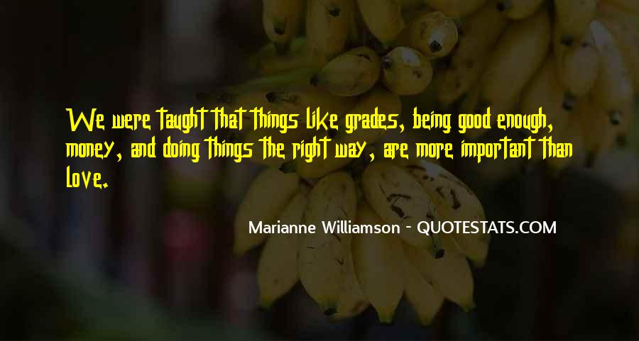 Quotes About Being Good Enough For You #230757