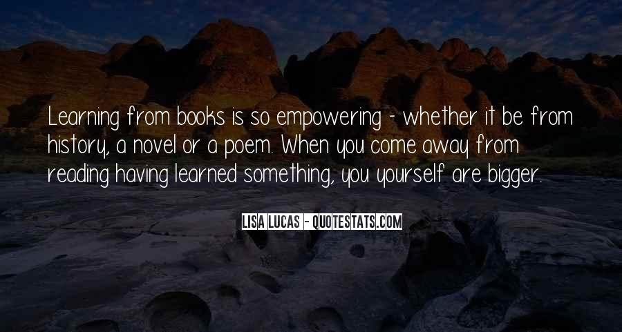 Quotes About Reading From Books #111016