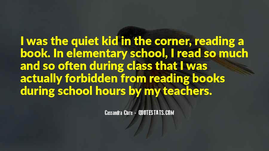 Quotes About Reading From Books #6379