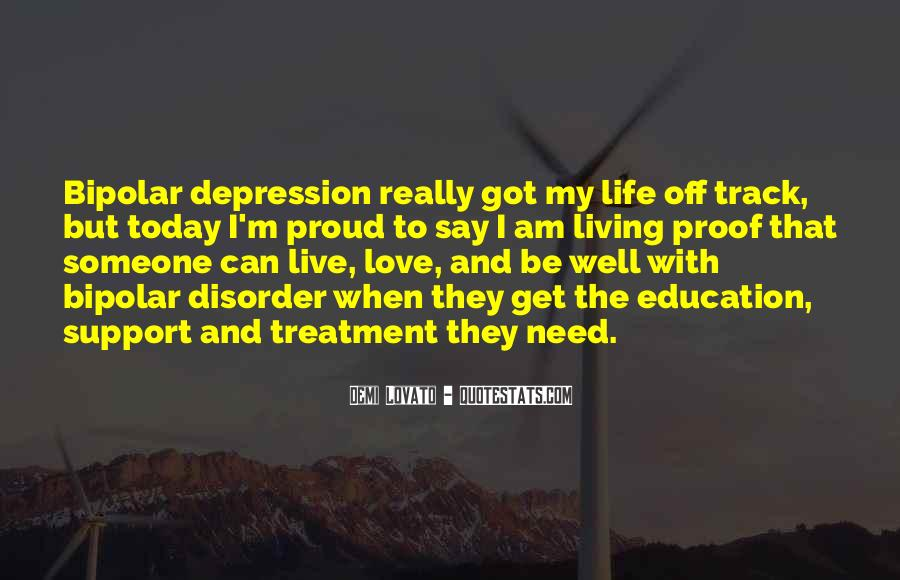 Top 50 Quotes About Living With Depression: Famous Quotes ...