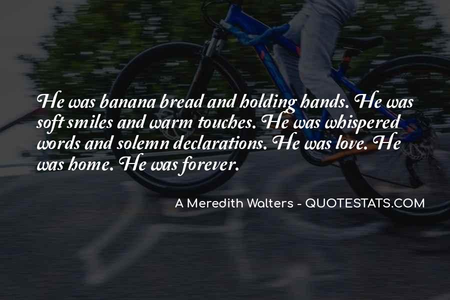 Quotes About Holding Hands Forever #1877579