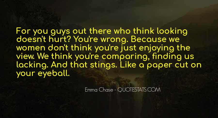 Quotes About Comparing To Ex #102030