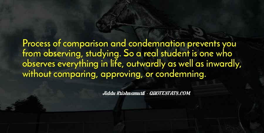 Quotes About Comparing To Ex #104598