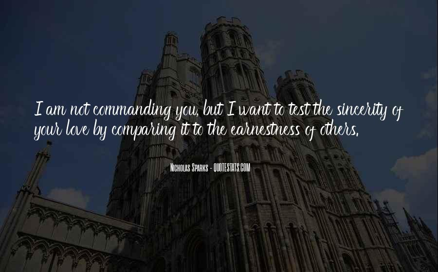 Quotes About Comparing To Ex #145679