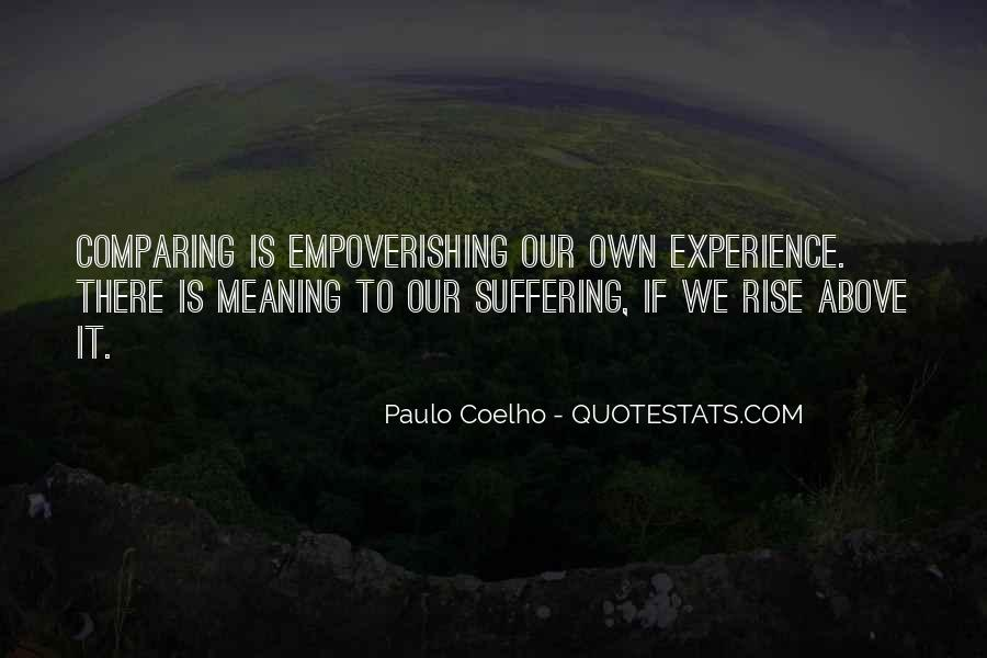Quotes About Comparing To Ex #28261