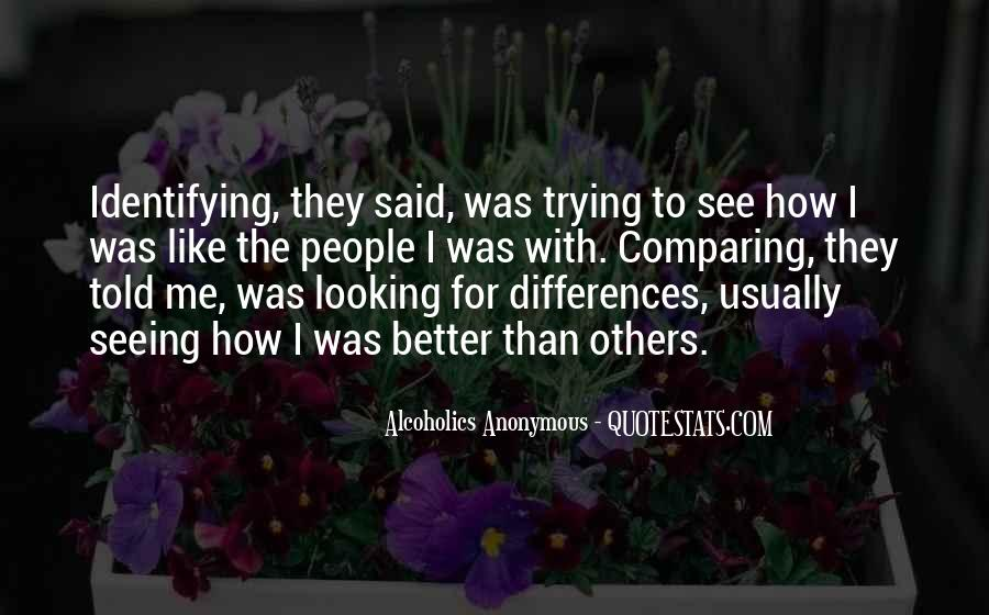 Quotes About Comparing To Ex #35653