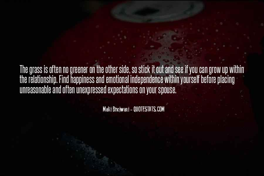 Quotes About Comparing To Ex #60031
