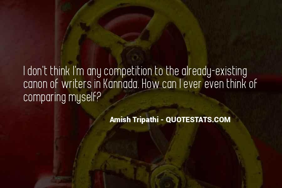 Quotes About Comparing To Ex #91501