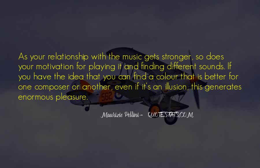 Quotes About Stronger Relationship #239804