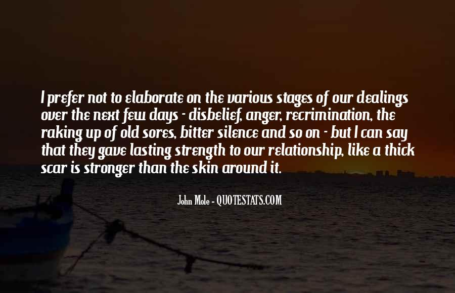 Quotes About Stronger Relationship #676699