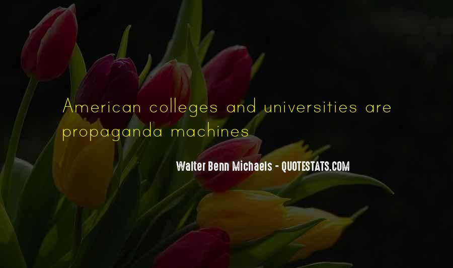 Quotes About American Universities #11124