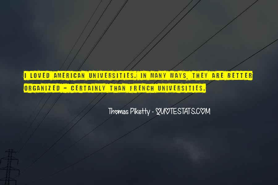 Quotes About American Universities #1567026