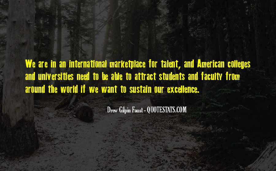 Quotes About American Universities #628210