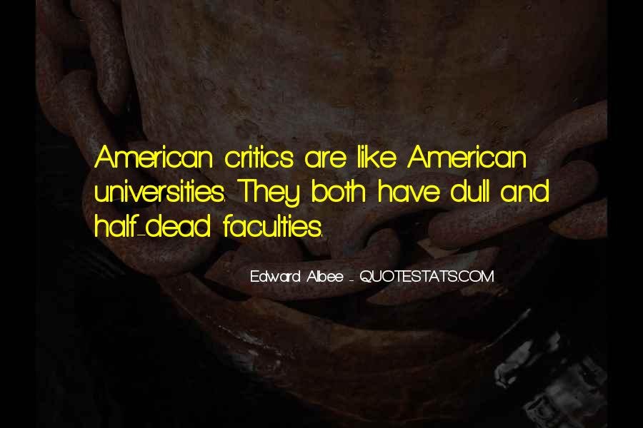 Quotes About American Universities #92574