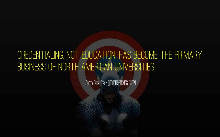 Quotes About American Universities #927580