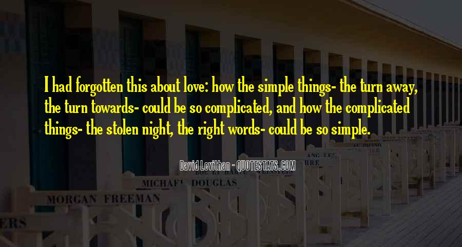 Quotes About Stolen Love #1168844