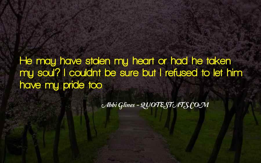 Quotes About Stolen Love #1438330