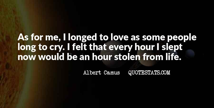 Quotes About Stolen Love #1587675
