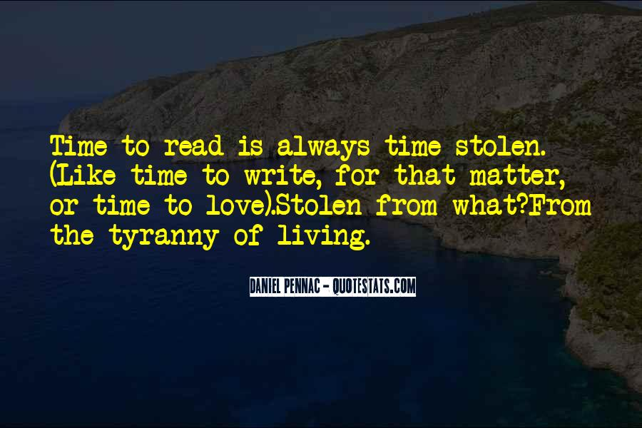 Quotes About Stolen Love #1589474